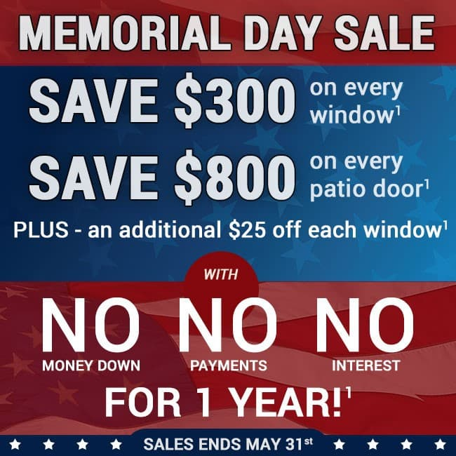 richmond may window door sale